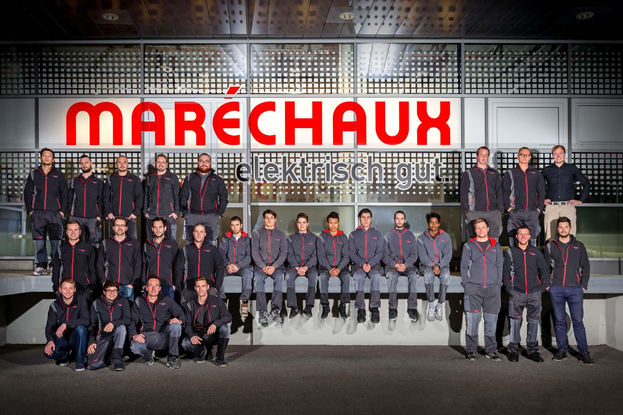 Maréchaux-Sursee-Team im Jahr 2015